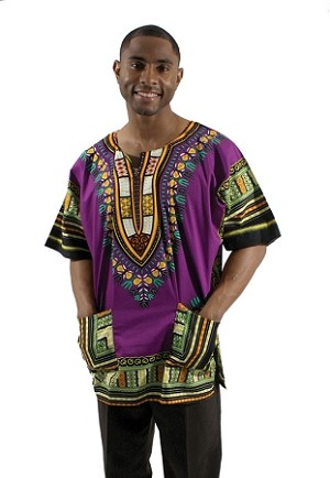 Dashiki: Purple
