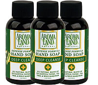 Hand Soap Defense Formula 2 oz.TRAVEL SIZE  (6 pack)