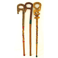 African Walking Canes