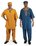 Men's Luxury African  Pant Set
