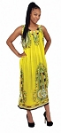 Traditional Sundress: Long / Yellow